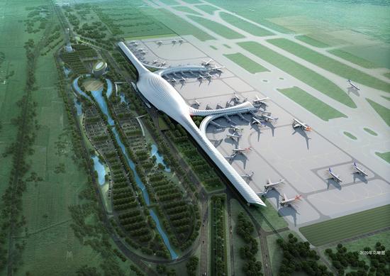 新华网专题:南宁吴圩国际机场T2航站楼启用