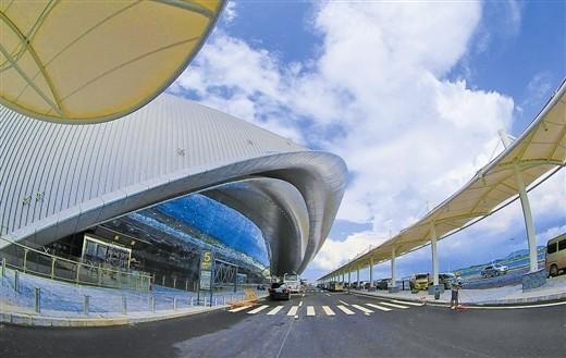 南寧機場新航站樓啟用