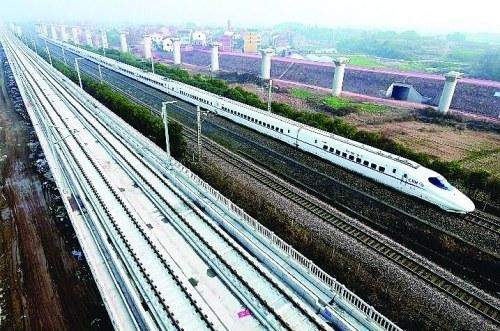 桂林至上海杭州的高鐵為期不遠了
