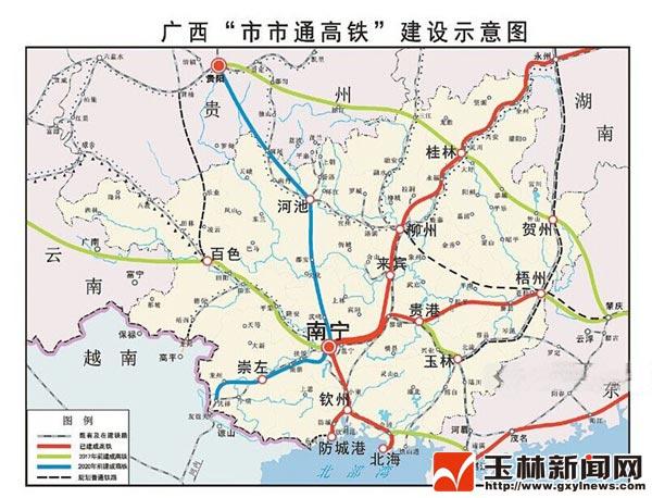 广西玉林地图高清地图分享展示