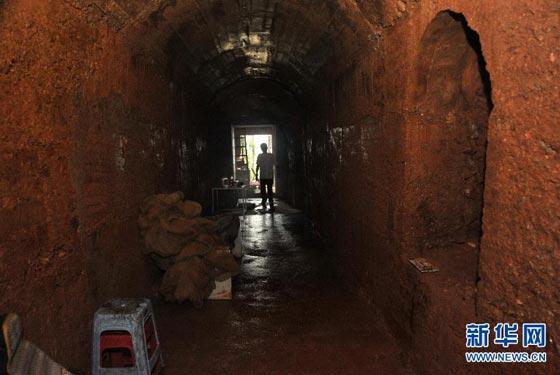 湖南老人山頂鑿洞獨居11年