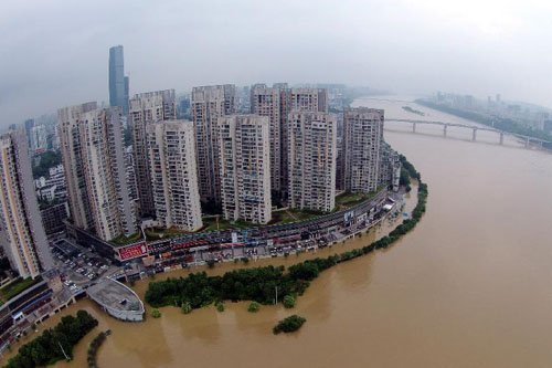 2015年廣西防汛抗洪