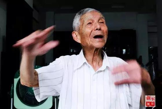 年華似水丨抗戰老兵的歲月記憶—王明才