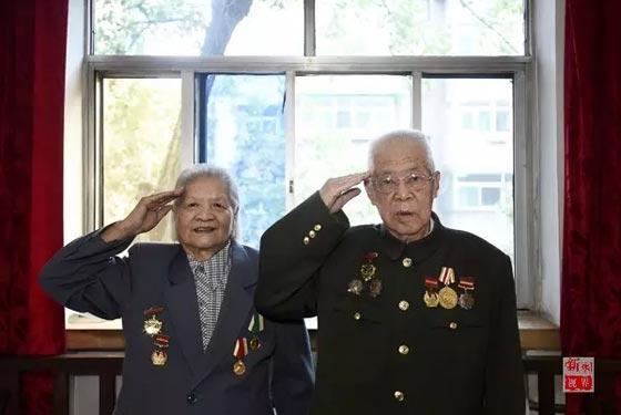年華似水丨抗戰老兵的歲月記憶—侯錫英、陳芳
