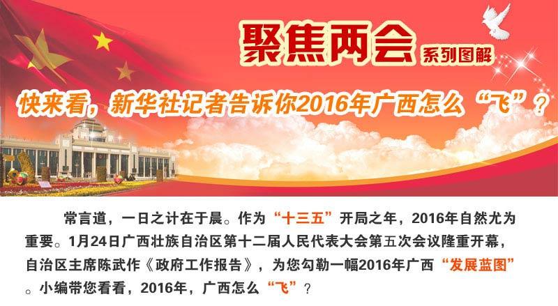 """快來看,新華社記者告訴你2016年廣西怎麼""""飛""""?"""