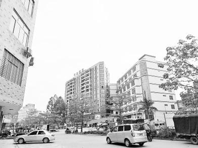 桂平市木乐镇小镇换新貌