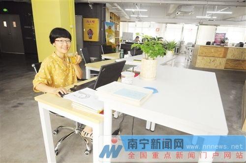 南寧創業新政吸引創業者 女白領舉家從京回邕創業