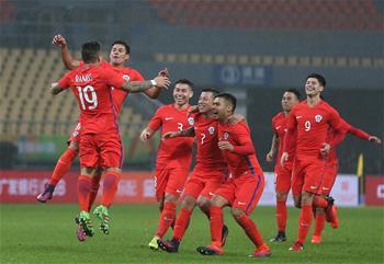 中國杯:智利勝克羅地亞