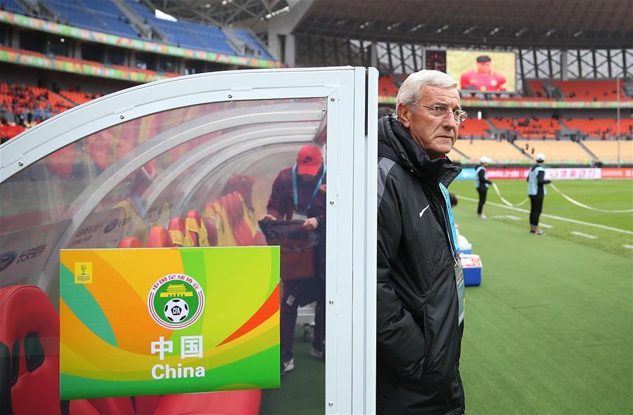 足球——中國杯:中國對陣克羅地亞