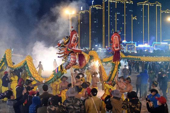 2017年中國·賓陽炮龍節