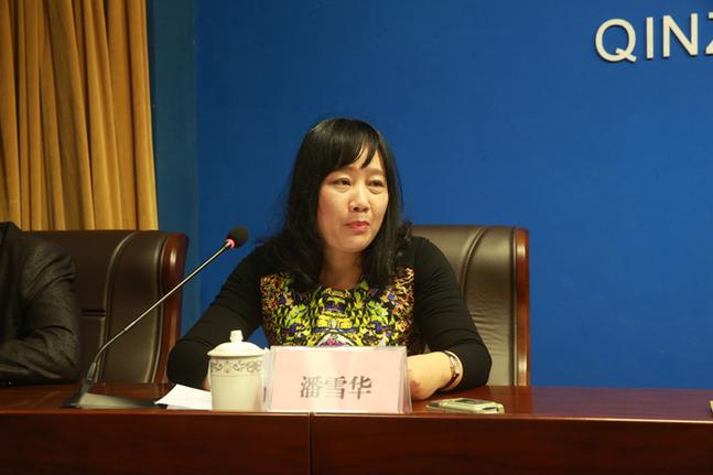 欽州市旅發委副主任潘雪華答記者問