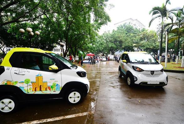 廣西柳州大力推廣新能源汽車
