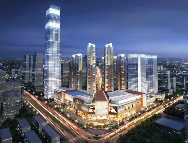 """在建廣西第一高樓""""長""""200米 建成達90層455米高"""