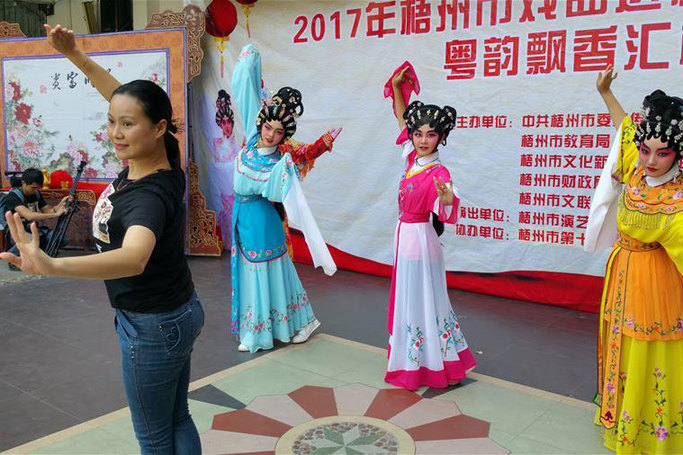 戲曲進校園 激活傳統文化
