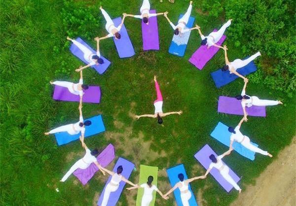 國際瑜伽日 瑜伽秀起來