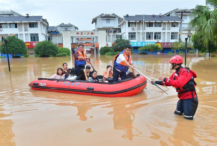 直擊2017廣西抗洪救災