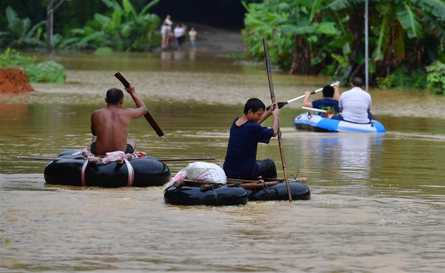 強降雨致廣西約109萬人受災