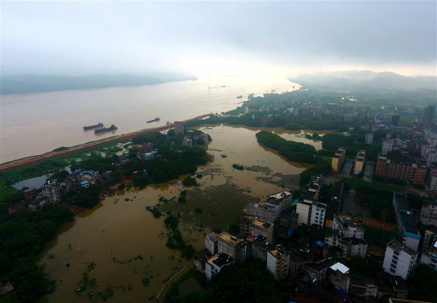 西江廣西藤縣段水位超警戒