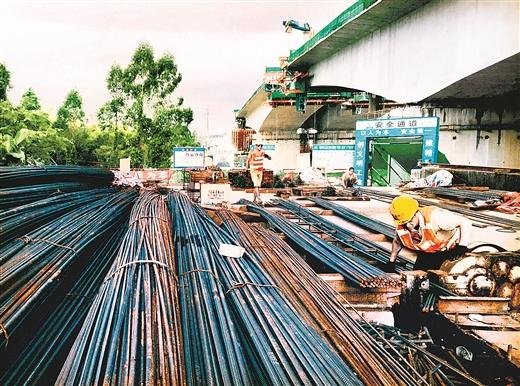 欽州市欽江五橋預計今年年底完工