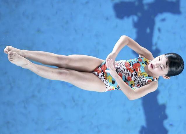 跳水——碧水池邊 放飛夢想