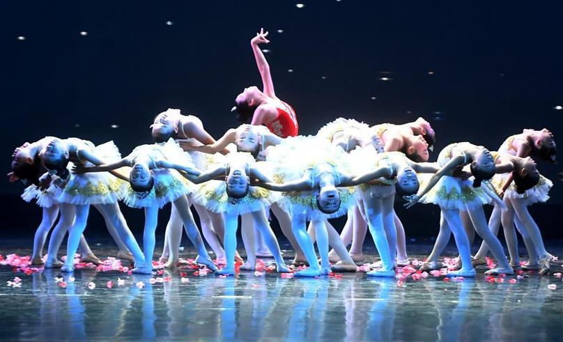 全國琦琦芭蕾少兒舞蹈比賽(廣西賽區)在南寧拉開帷幕