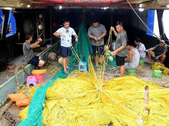 南海休漁期結束