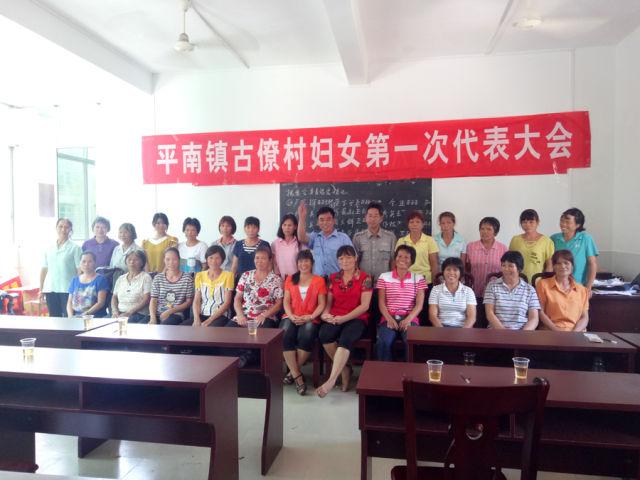 靈山平南鎮成立首個村級婦聯