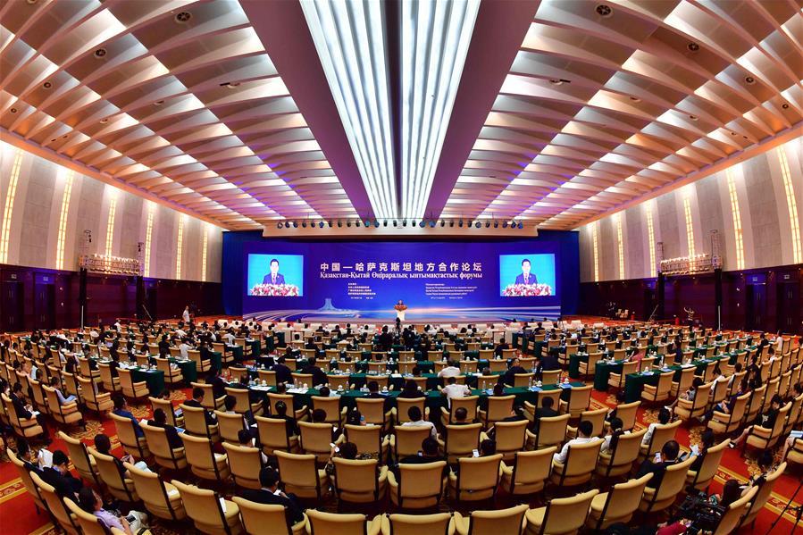 首屆中國-哈薩克斯坦地方合作論壇在南寧舉行