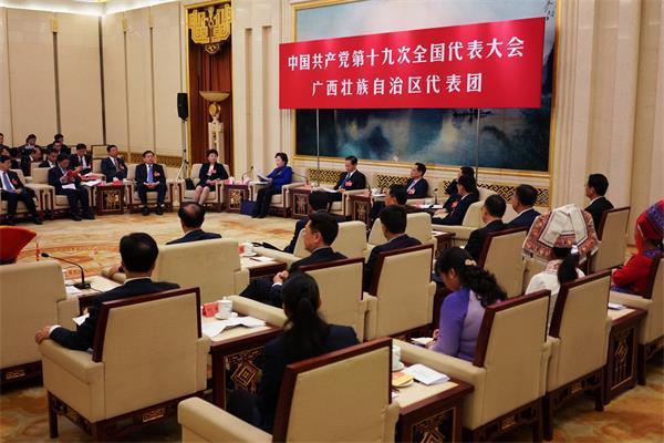 代表團討論向中外記者開放