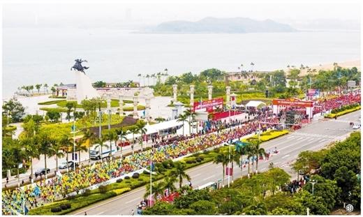 2537名志願者服務馬拉松賽