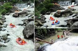 桂東南初夏親水旅遊熱