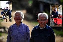 """探訪桂粵交界""""最具幸福感""""的百歲老人"""