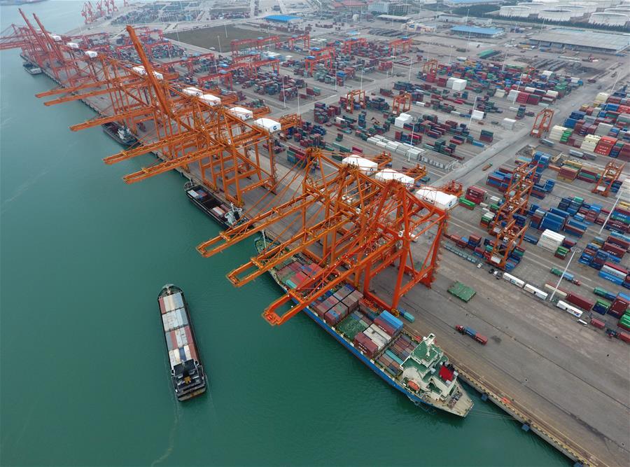 廣西欽州:港口建設成績顯著
