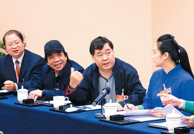 文藝界委員就加強文化自信的問題展開討論
