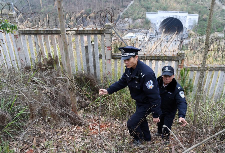 深山铁路守隧人