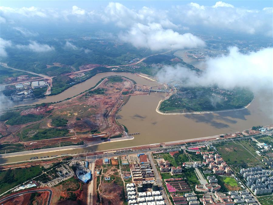邕寧水利樞紐工程建設進展順利