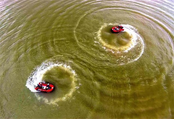 """河池红十字会水上救援队:练就""""浪里白条"""" 争做救援先锋"""
