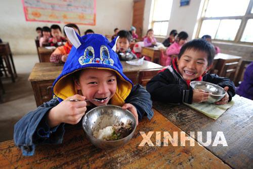 """""""馬山模式"""":讓山區孩子的免費午餐吃得更好"""