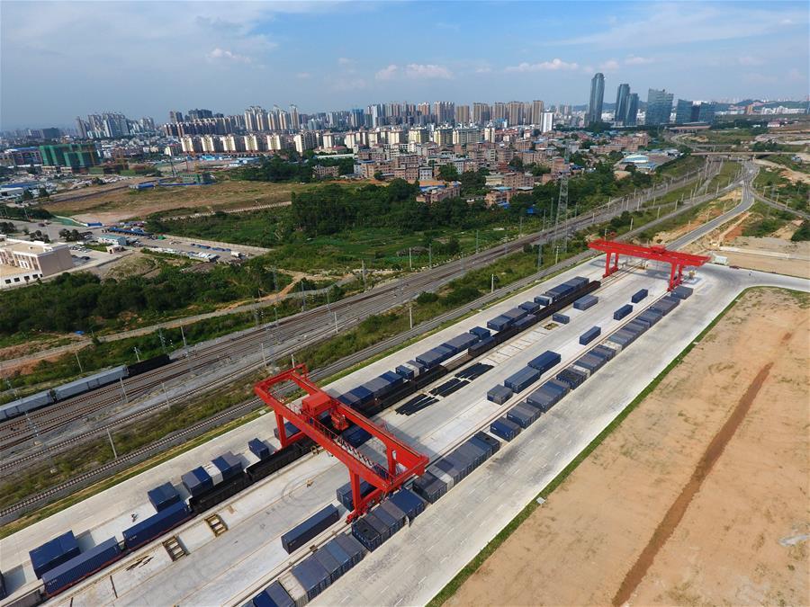廣西南寧:鐵路物流拓寬南向通道