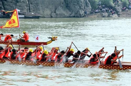 2018年广西武宣龙舟邀请赛