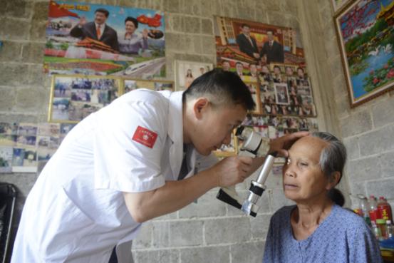 广西大新14名贫困白内障患者获免费手术重见光明