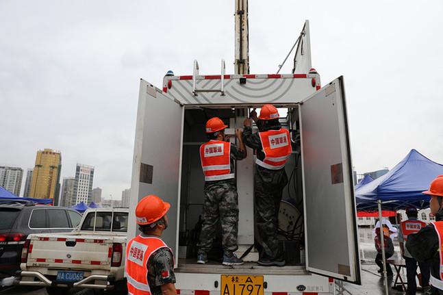 廣西聯通參加第15屆中國-東盟博覽會應急通信保障演練
