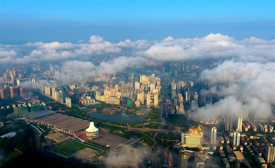中国—东盟博览会永久举办地广西南宁的15年变迁