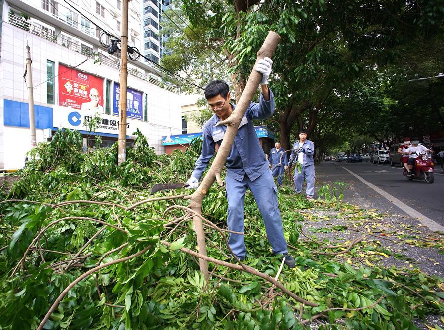 广西发布台风红色预警