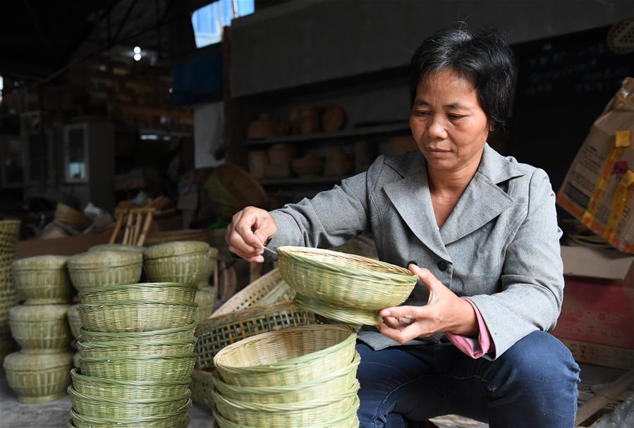 竹編産業助增收