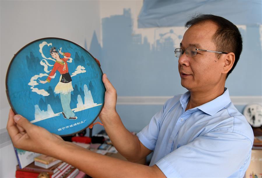 謝中國:做劉三姐文化的傳承人