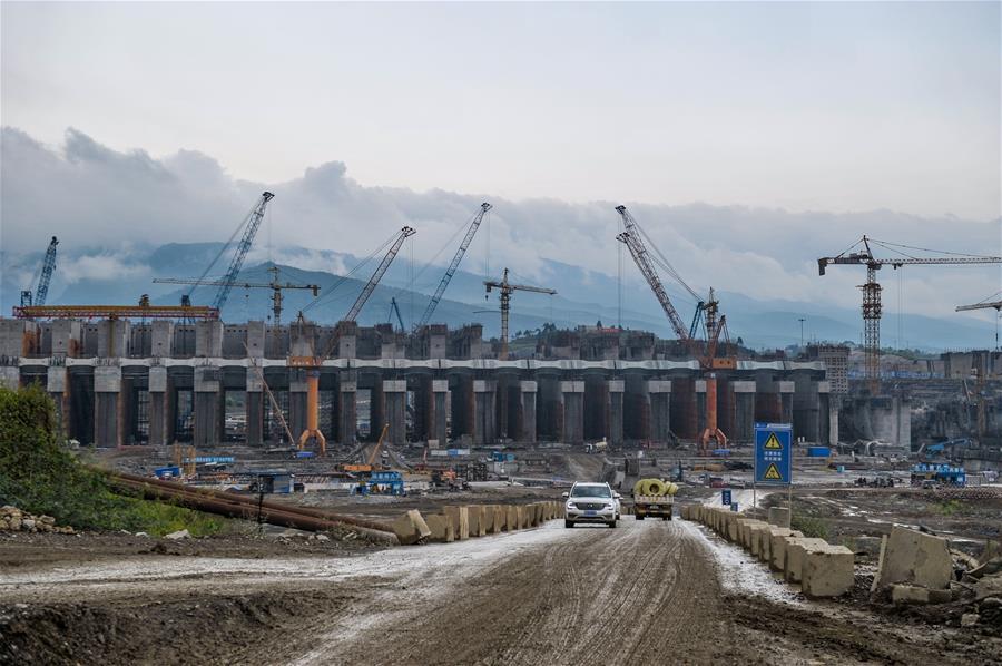 走近大藤峽水利樞紐工程
