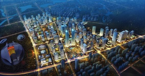 建設五象新區 再造一個新南寧——探訪廣西南寧五象新區總部基地