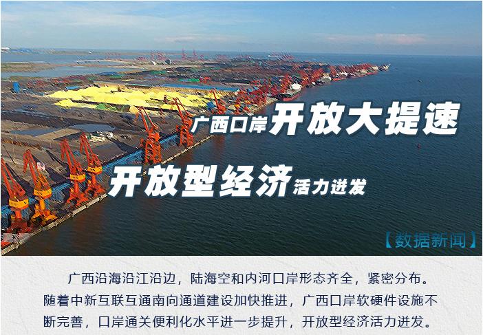 [新時代·幸福美麗新邊疆]廣西口岸開放大提速 開放型經濟活力迸發