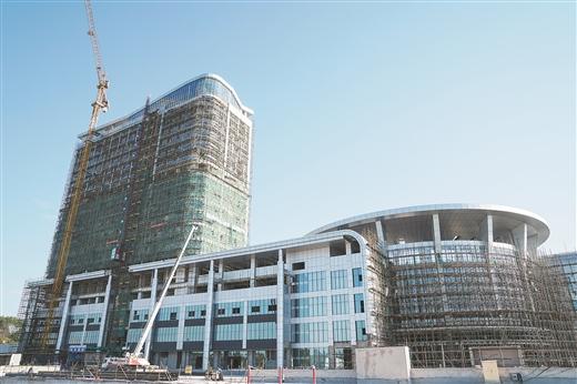 龍圩綜合客運樞紐站計劃今年內建設完成